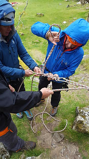 climbing knots, rock climbing instructor