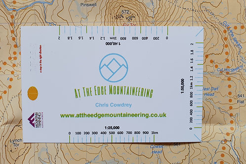 Distance Measuring & Timing Card