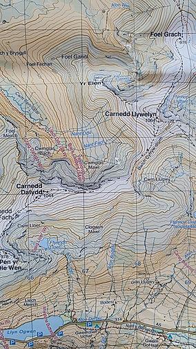 Harvey Maps, Snowdonia