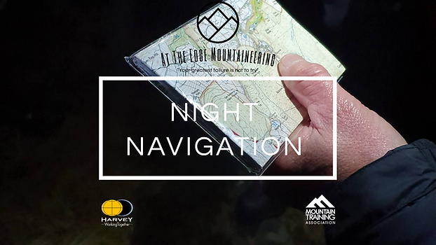 night navigation, navigation courses dartmoor