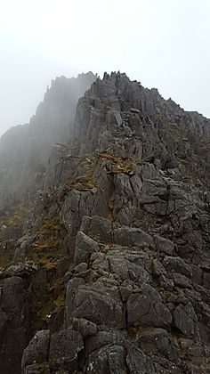 Bristly ridge, snowdonia
