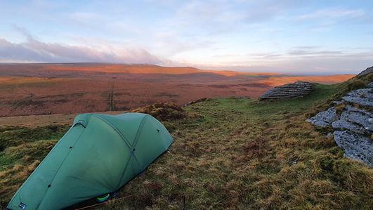 Wild Camping, Dartmoor, Terra Nova tent