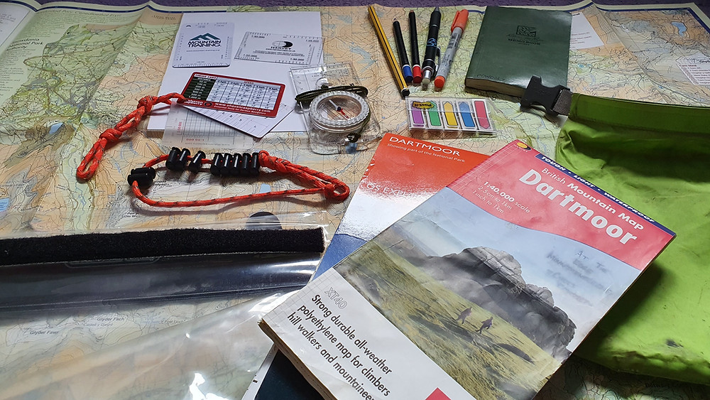 A selection of maps and navigation aids and resources