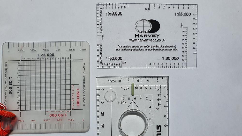 navigation romers: compass, shaven raspberry, Harvey Maps