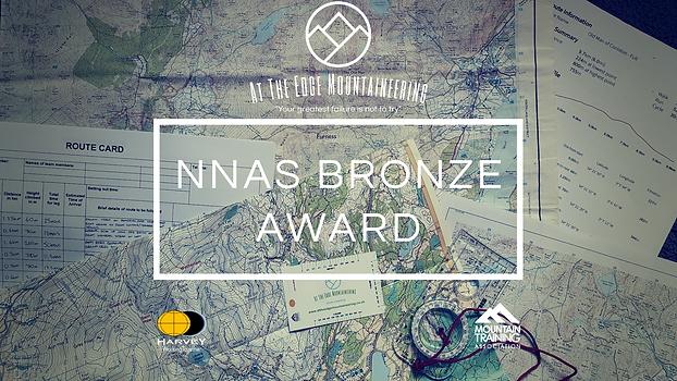 NNAS bronze award, maps, route card
