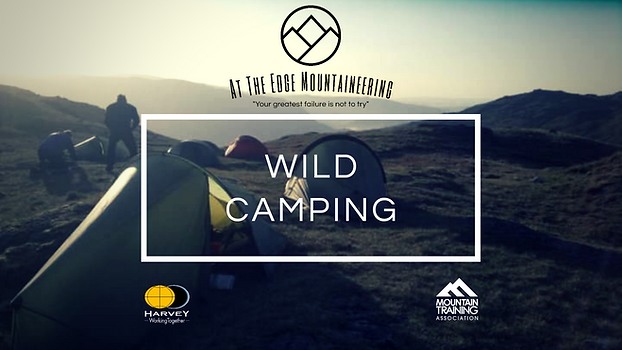 Wild Camping, The Lake District