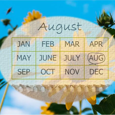 Your Garden In August