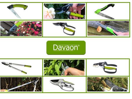 Davaon Garden Tools now available on Amazon.co.uk