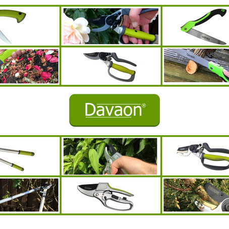 Davaon Garden Tools now available on Amazon.co.uk