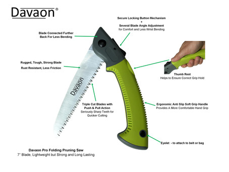 NEW Davaon Pro Pruning Saw Now Available