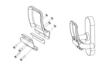 GRATUIT Fichier de création de votre poignée ouvre porte en 3D.