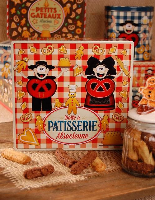 Boite carré spritz 600g beurre et choco amandes PRIX HT