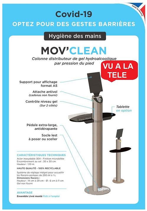 Mov'Clean  Colonne de désinfection. PRIX HT