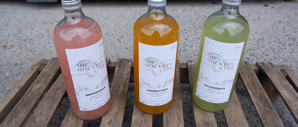 "Mocktail ""by Marie & Kaat"" - 1 liter"