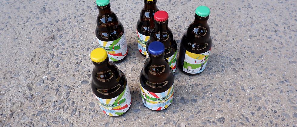 """Aperobier """"Jongleur"""" 6 flesjes van 33 cl"""