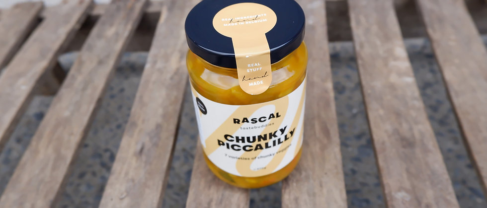 """Chunky Piccalilly """"By Niels"""" - 370 gram"""
