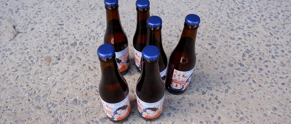 """Aperobier  """"Claudette"""" 6 flesjes van 33 cl"""
