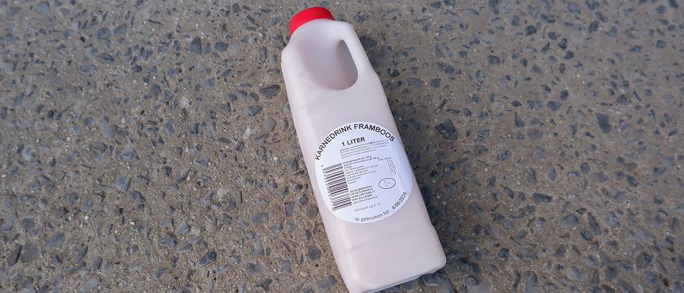 "Verfrissende karnemelk framboos ""by Griet"" - 1 liter"