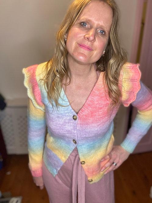 Maria Rainbow Cardigan