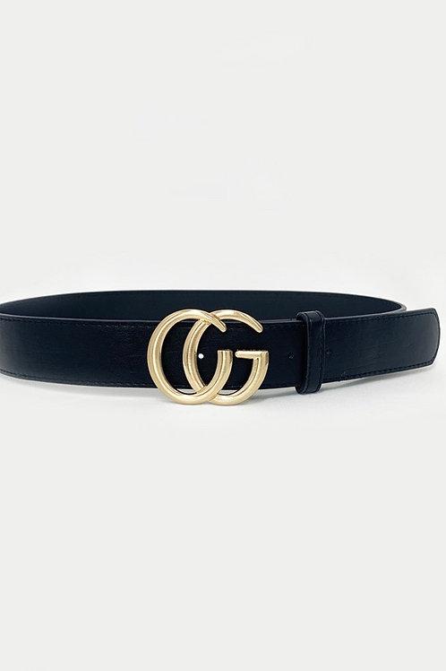 Designer Inspired GG Belt