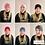Thumbnail: Rose Soft Knit Head Wear