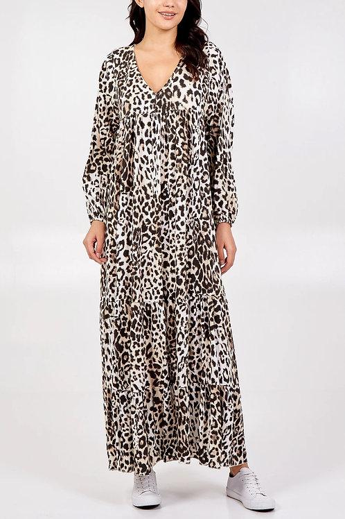 Sara Animal Print Dress