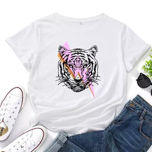 Tiger Bolt Graphic Tee Shirt