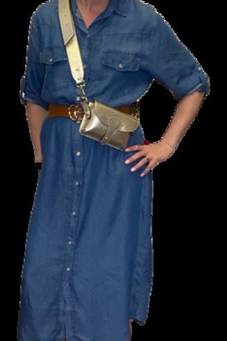 Livy Denim Shirt Dress
