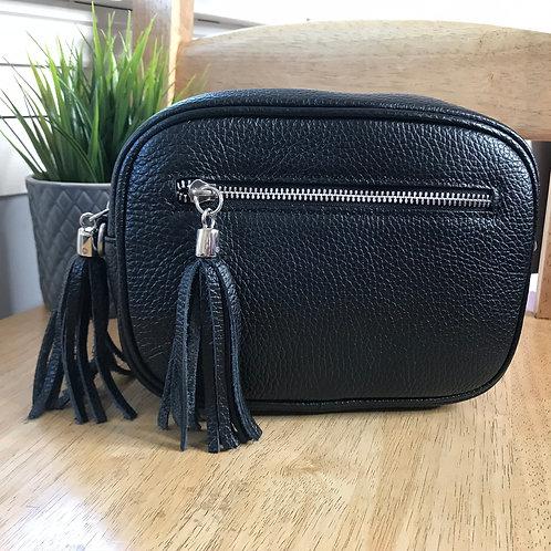 Ruby Leather Cross Body Bag