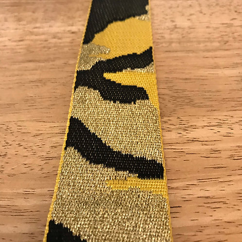 Bag Strap - Yellow and Gold Camo