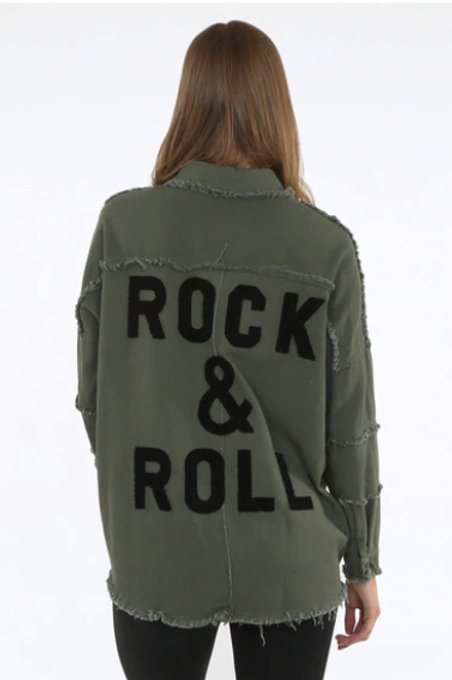 Rock & Roll Utility Shacket