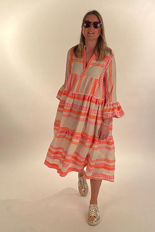 Saffy-Neon  Dress Midi