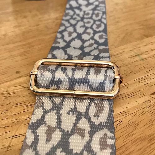 Bag Strap - Snow Leopard