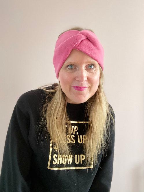 Rose Soft Knit Head Wear