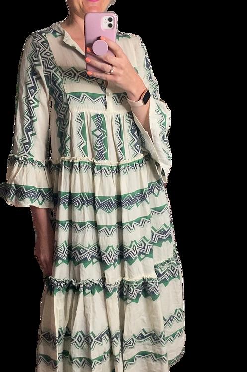 Maggy Aztec Midi Dress