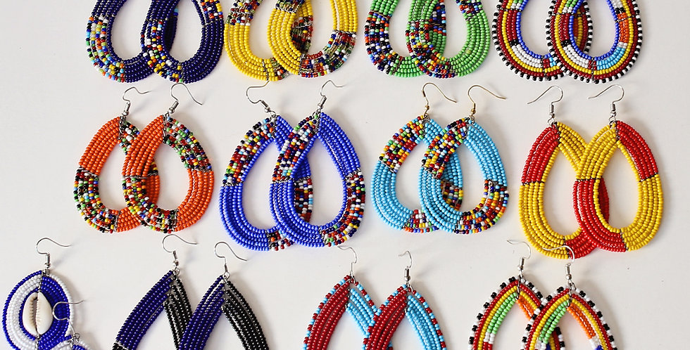 Maasai Earings - Assorted Set of 3