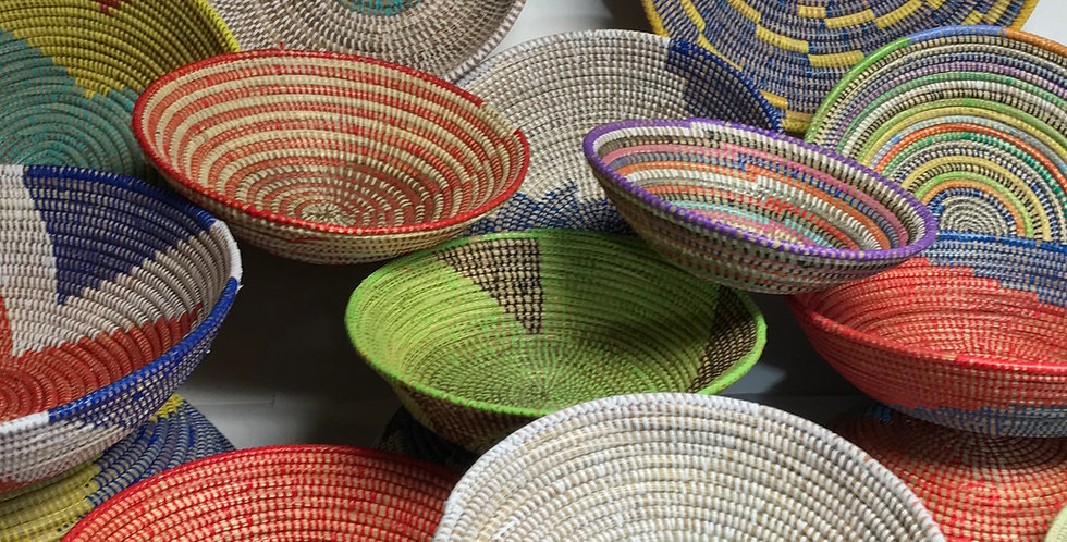 Sweet Grass Basket- Assorted Large-1 each
