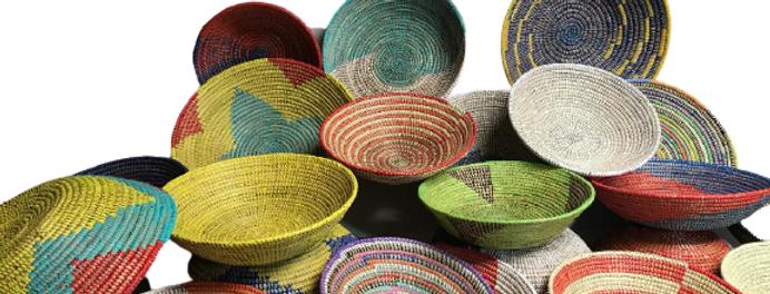 Sweet Grass Basket- Assorted Medium- 1 Each
