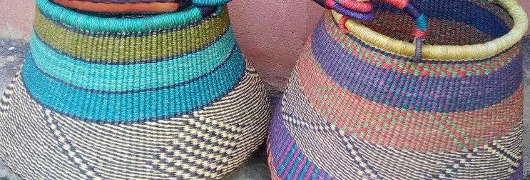 Pot design  Market basket- 1 Each