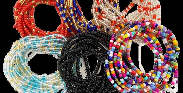 African Waist Beads Jewelry (set of 3)soon