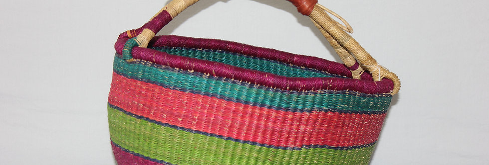 African Market Basket-Rainbow