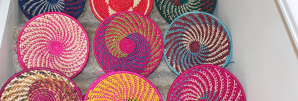 African Basket Fruit Bowl- Kenya- 1 Each