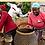 Thumbnail: Pot Design Bolga African basket (2 Tone)