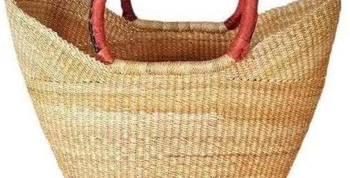 NATURAL DYE-FREE African Market Basket -Wing  shopper