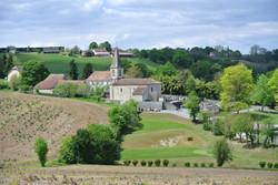 Vue église de Lanneplaà