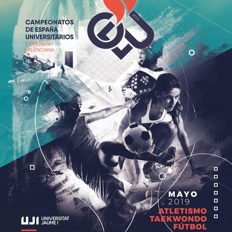 Los Campeonatos de España Universitarios arrancan en la UJI con el atletismo y el taekwondo