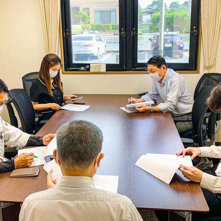 社内交通安全推進委員会会議を実施しました
