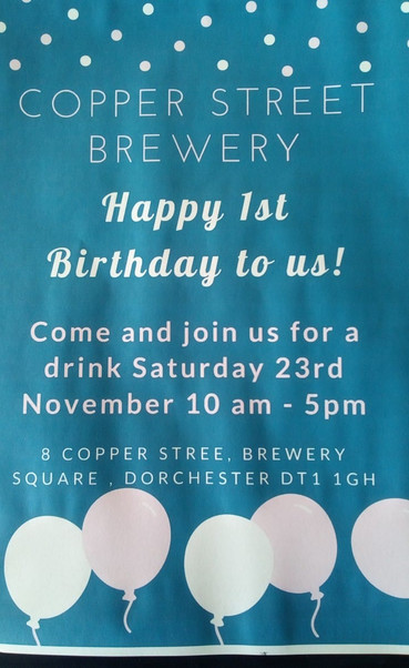 COME CELEBRATE OUR 1ST ANNIVERSARY WITH US!