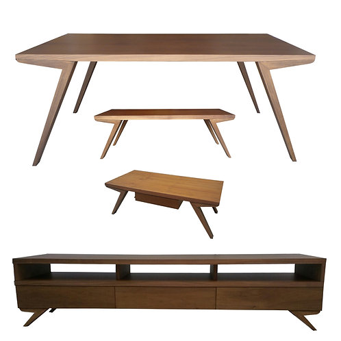 Zara dining coffee table bench tv console