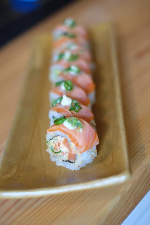 Salmon Lover signature roll